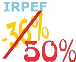 Detrazione IRPEF 50% prorogata anche per il 2019
