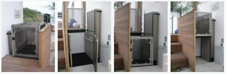 Fahrstuhl Rollstuhl Lift Hebeb Hne Plattformlift Hauslift