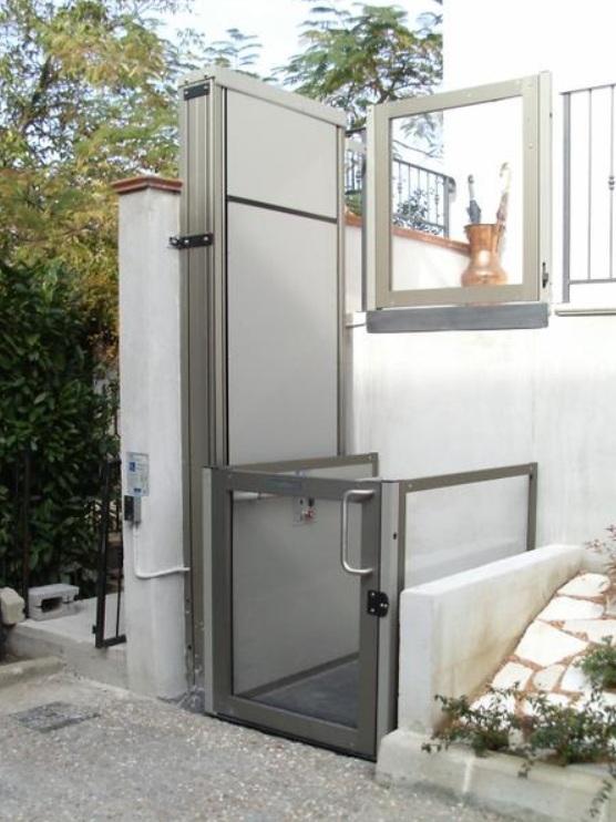 Opal piattaforma elevatrice per piccoli dislivelli grimas ascensori home lift - Piattaforme elevatrici per interni prezzi ...