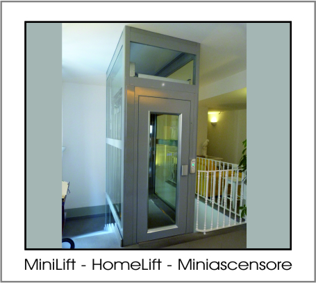 Minilift Homelift: il Miniascensore domestico (piattaforma elevatrice)|