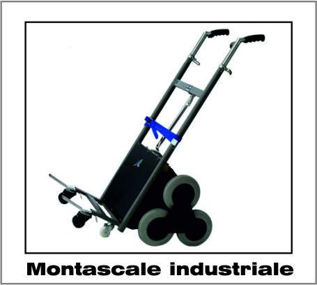 Montascale industriale trasporto merci TGR|