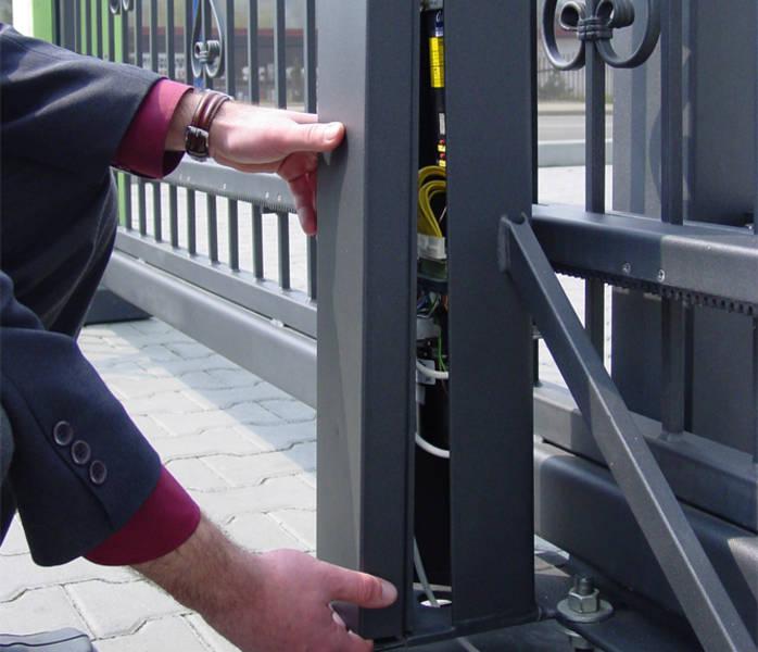 Motorizzazione cancello scorrevole civile