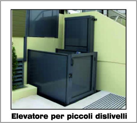 Opal Elevatore - Piattaforma Elevatrice per piccoli dislivelli