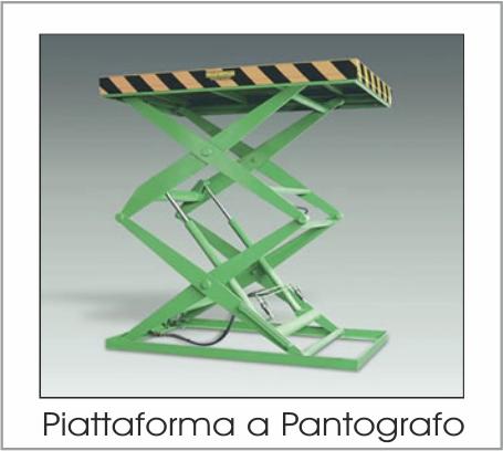 Piattaforma a Pantografo Trasportcar
