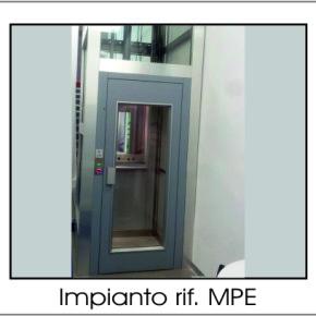 Piattaforma elevatrice MPE