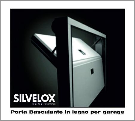 Porte per Garage basculanti in legno, automatiche o manuali, portoncini blindati Silvelox