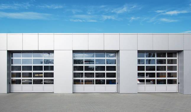 Sezionale industriale vetrato 10