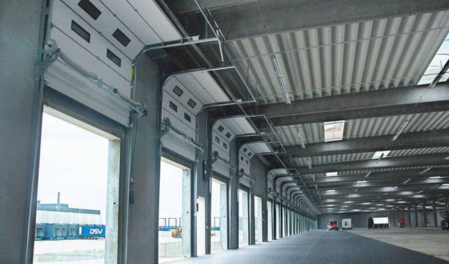 Sezionale industriale vetrato 5