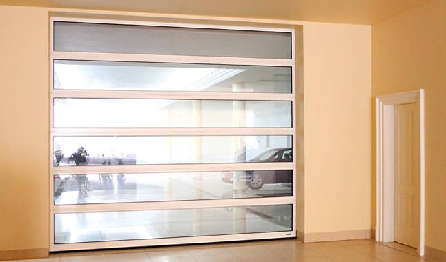 Sezionale industriale vetrato 7
