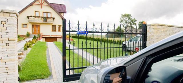 Cancello scorrevole a sbalzo civile Wisniowski