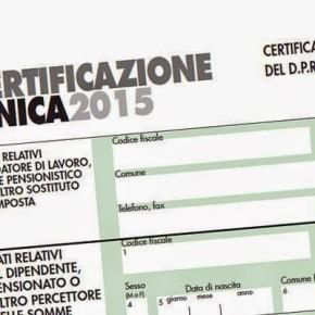 Certificazione Unica  - CU